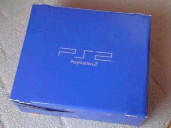 PS2の青い箱