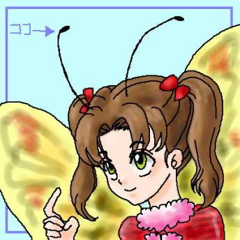 擬人化してみた蝶